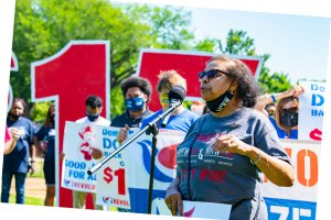 Dr. Williams Minimum Wage Rally Washington DC