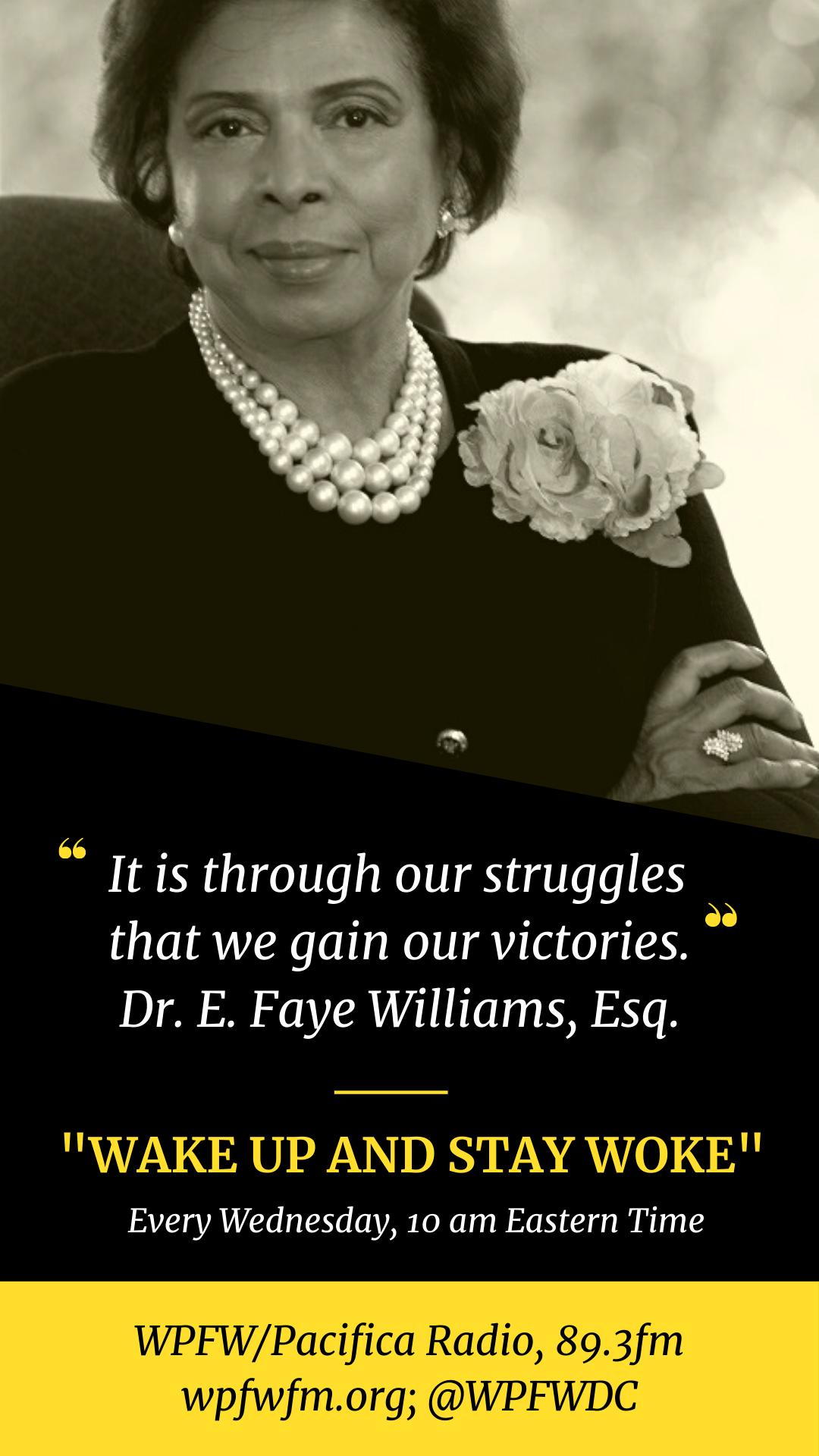 Dr. E. Faye Williams Speaker